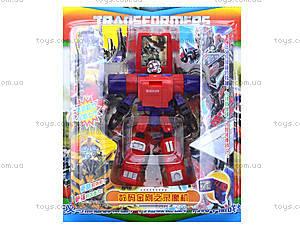 Игрушечный робот-трансформер, для детей, 292D, фото