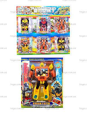 Игрушечный робот-трансформер, для детей, 292D