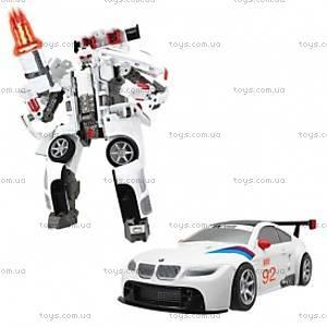 Робот-трансформер - BMW - MW GT2 (1:32), 52120 r