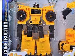 Робот-трансформер «Экскаватор», HY2284, купить