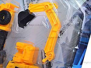 Робот-трансформер «Экскаватор», HY2284, отзывы