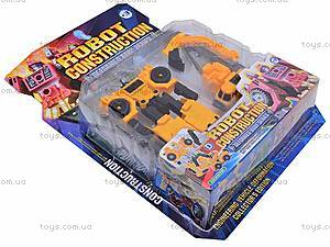 Робот-трансформер «Экскаватор», HY2284, цена