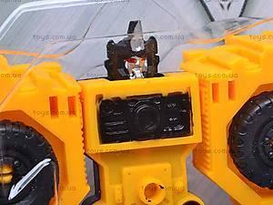 Робот-трансформер «Экскаватор», HY2284, детские игрушки