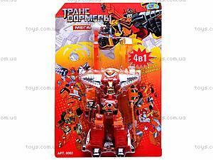 Робот-трансформер игрушечный, 8002, отзывы