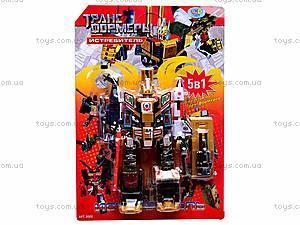 Робот-трансформер игрушечный, 8002, цена