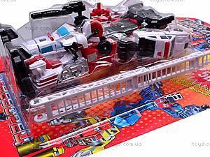 Робот-трансформер игрушечный, 8002, детские игрушки