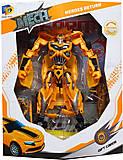 Робот-трансформер «Желтый спорткар», D622-E266, купить