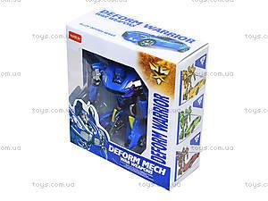 Робот-трансформер Deform Warrior, 8022-B, отзывы