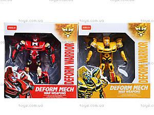 Робот-трансформер Deform Warrior, 8022-B, детские игрушки