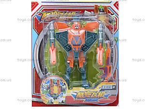 Робот-трансформер, 6 штук, 310A, игрушки