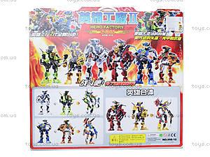 Конструктор для мальчиков «Робот-трансформер», 998-10, фото