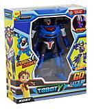 Робот-трансформер «Тобот Y» синий, 40142+A8, купить