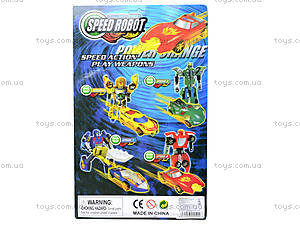 Робот-трансформер «Транспорт», 990045-04, отзывы