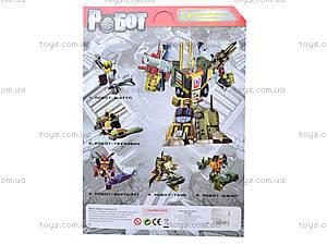 Робот-трансформер игрушечный, 8002, toys.com.ua