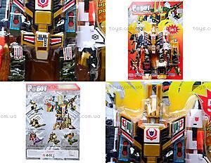Робот-трансформер игрушечный, 8002