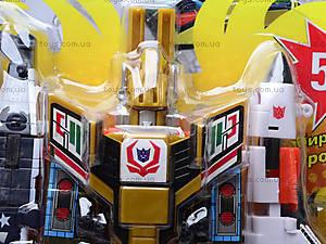 Робот-трансформер игрушечный, 8002, іграшки