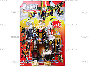 Робот-трансформер игрушечный, 8002, детский