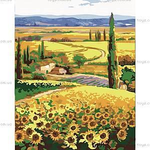 Картина по номерам «Родные поля», КН2203