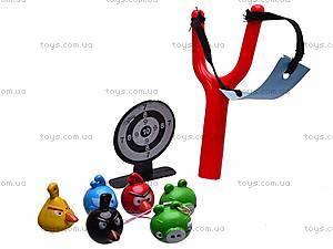 Рогатка с мишенью Angry Birds, 6888-33