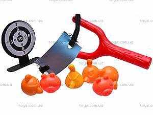 Рогатка с мишенью Angry Birds для детей, 6888-22