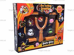Рогатка с птичками «Angry Birds», X5