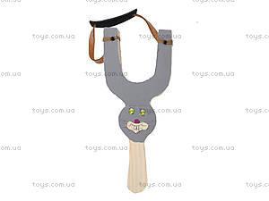 Деревянная рогатка детская «Зайчик», 141-011, фото