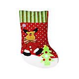 Рождественский носок для подарков «Олень», С30203, фото