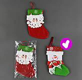 Рождественский носок «Снеговик», C22734, набор