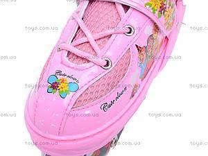 Ролики для девочек, розовые, F1-K17 34-37, фото