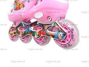Ролики для девочек, розовые, F1-K17 34-37, отзывы
