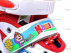 Ролики для девочки, с регулировкой размера, E02857, цена