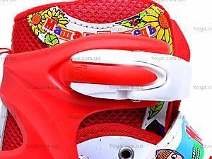 Ролики для девочки, с регулировкой размера, E02857, детские игрушки