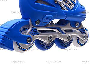 Ролики для начинающих, голубые, F1-K06 30-33, магазин игрушек