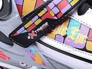 Ролики раздвижные для размеров L(40-43) , PW-126B-38 L(, toys.com.ua