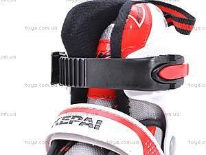 Ролики с металлической рамой, красные, F1-K06 34-37, отзывы