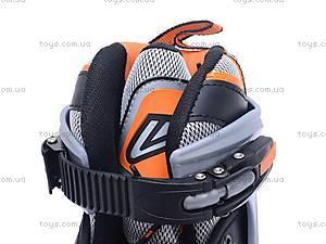 Ролики с металлической рамой, оранжевые, F1-V9 39-42, цена