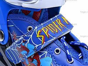 Ролики Spider Man, с регулируемым размером, E02871, цена