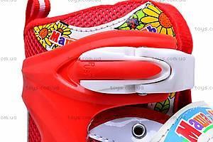 Роликовые коньки для девочки, с изменяемым размером, E02855, отзывы
