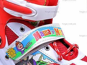 Роликовые коньки для девочки, с изменяемым размером, E02855, детские игрушки