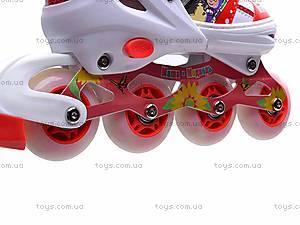 Роликовые коньки для девочки, с изменяемым размером, E02855, toys.com.ua