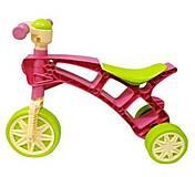 Ролоцикл 3 ТехноК розово-зеленый, 3220-1