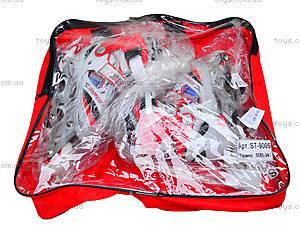 Роликовые коньки 31-34 размер, ST 9005  466-586 S КРАСН, игрушки