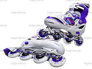 Роликовые коньки подростковые, 39-42 размер, ST 9005  466-586 L ФИОЛ, игрушки