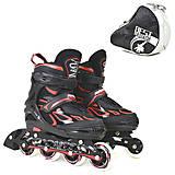 Ролики «Best Roller» размер 35-38 черно-красные, 6006, отзывы