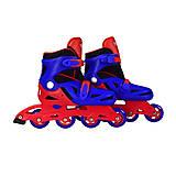 Ролики раздвижные «Extreme Sport» 37-40 размер красно-синие, YW0354L, отзывы