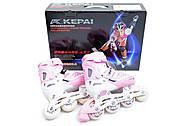 Ролики раздвижные «Kepai» размер 30-33 розовые, F1-S6, отзывы