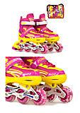 Ролики размер L, розовые, А24833L РОЗ, фото