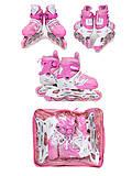 Ролики размер М розовые, F22243