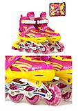 Ролики размер М, цвет розовый, А24832M РОЗ, отзывы