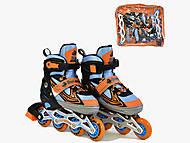Ролики Best Roller размер 30-33 (S), оранжевые с голубым, A2548808700, оптом